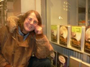 Stolt och lycklig författare.