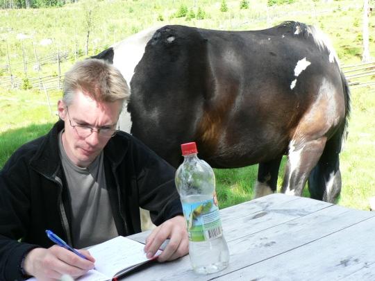 Stefan Nilsson, kulturgeograf, min stigfinnare i Värmland.