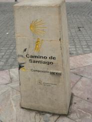 Vägvisare för El Camino, pilgrimsleden tll Santiago de Compostela