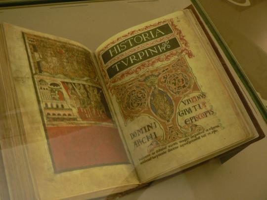 Världens första resehandbok. Den medeltida bskrvningenav vägen tll Santiago de Compostela.