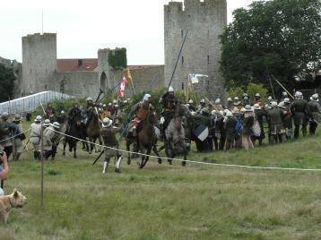 Den danska armén var välutrustad och Valdemar hade även tyska legoknektar med sig.