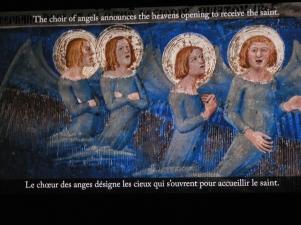 Min favoritbild av änglarna i påvepalatset. Så magnifikt uttråkade när de måste sjunga för ännu ett helgon. som kommer till himlen.