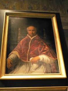 En konstnärs vision av hur Clemens VI kan ha sett ut.