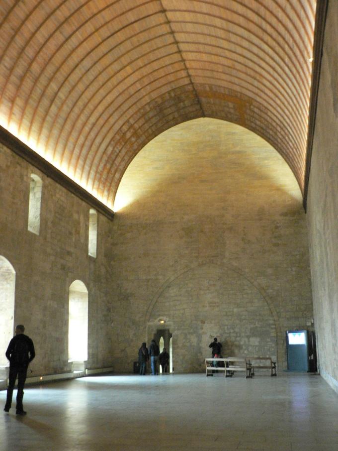 Le Grande Tinel, palatsets festsal i restaurerat skick dag.