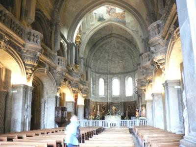 Katedralen i Avignon där Anselm för arbete en tid.