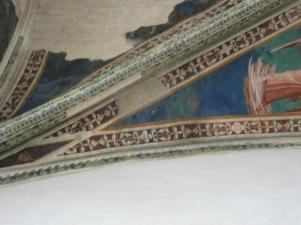 Mosaik i ett livé, ett kardinalspalats i Villeneuve.