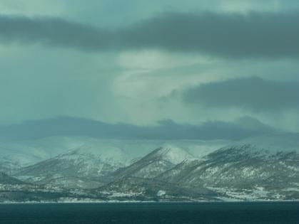 Grafiskt från Hurtigruten.