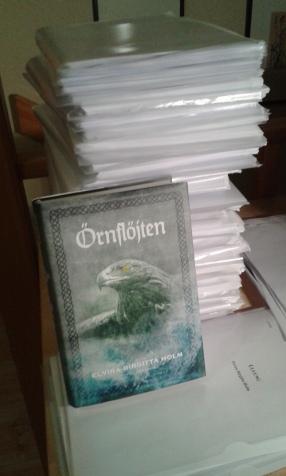 """Manushögen krympte i alla fall till """"bara"""" 600 sidor."""